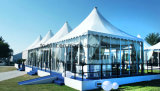 6X6m Glass Wall Pagoda Multi  Purpose  Famiry Tents Capacity