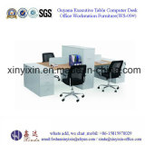 Modern MDF Staff Office Desk Workstation Furniture (WS-09#)