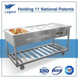 Wholesale Price of 4 Bay Steam Table Stainless