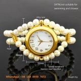 Graceful Pretty Quartz Women′s Watch with Pearl Strap Fs580
