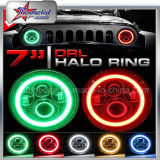 Angle Halo 7 Inch RGB LED Headlights for Jeep