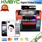 A3 Size 6 Colors UV LED Mobile Phone Skin Printer