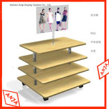 Melamine MDF Display Shelf for Store