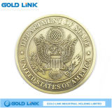 Casting Metal Coin Souvenir Custom Gold Coin Promotion Gift