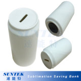 White Coke Can Ceramic Saving Bank with Sublimation Coating