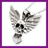 Cheap Alloy Jewelry Gothic Hiphop Star Skull Pendant Necklace