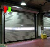 Remote Control Aluminum Roll up Automatic High Speed Garage Door (Hz-RU021)