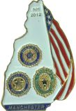 Metal Pin Badge for Military Badge (M-MB40)