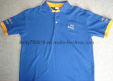 2014 Customized Cotton Pique Mesh T-Shirt Polo Shirt