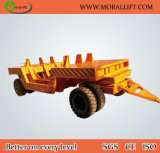 Towed Industrial Flat Trolley for Welding Shop (KP)
