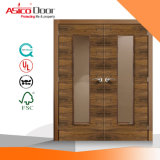 Europe British Standard BS 476 Wooden Fire Door Halspan Fire Core Exit Emergency Door