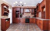 Solid Wood Kitchen Cupboard (zq-001)
