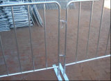 Hot Dipped Galvanized Crowd Control Barrier for Events/Concreted Steel Barrier