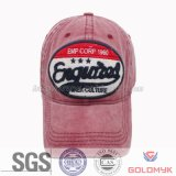 Patch Embroidery Designs Washed Baseball Cap (GKA01-F00010)