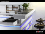 High Quality White Lacquer Kitchen Cabinet