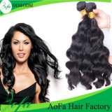 Silky Body Wave Natural Black Brazilian Virgin Human Hair