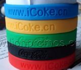 Cheap Giveaways Logo Branded Silicone Bracelet