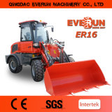 Qingdao Everun Er16 Construction Machinery Mini Wheel Loader for Sale