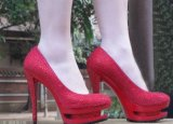 2016 New Style Fashion High Heeled Dress Shoes (HCY07-004)