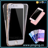 Full Transparent Clear TPU Phone Case for iPhone 6/6s Plus