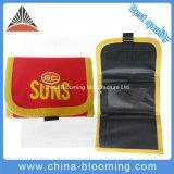 Red Color Portable Polyester Coin Purse Men Bag Wallet