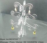 Tree Shape Clear Acrylic Earring Display Shelf