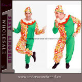 Wholesale Cosplay Men Adult Clown Jumpsuit Carnival Costume (TCQ012)