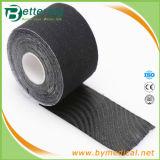 Gymnastic Elastic Cotton Sports Muscle Tape Black Colour