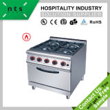 4 Gas Burner with Gas Oven