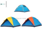 Double-Skin Aluminium Pole Camping Tent for 3 - 4 Persons (JX-CT024)