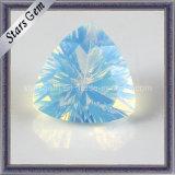 Beautiful Triangle Shape Trilliant Millennium Cut Opal Glass