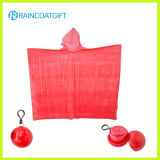 Cheap PE Disposable Rain Poncho Ball (RVC-106)