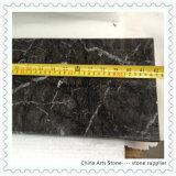 Italian Dark Grey Marble Tiles for Hotel Wall