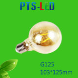 G125 4W 6W 8W 400-900lm Dimmable LED Filament Bulb