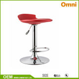 Colored Bar Chair Leisure Chair with Plating Feet (OM-YW6)