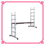 Aluminum Scaffolding Ladder with Work Platform