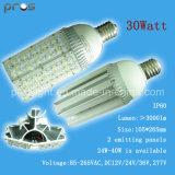 85-265VAC, DC12V/24V/36V, 277V Solar LED Street Light 30watt 105*265mm