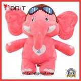 Custom Stuffed Animal Pink Elephant Stuffed Animal