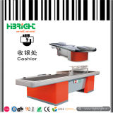 Checkout Counter Cashier Desk with Electric Belt