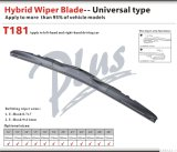 Auto Accessory Wiper Blade with Hybrid Adaptor