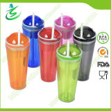 24oz Double Wall Insulated Snack Tumbler with Straw (TB-B303)