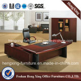 Solid Wood Office Furniture Walnut Executive Office Table (HX-RD3126)