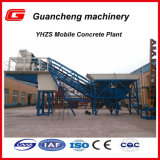 Yhzs25 Mobile Cement Mixing Station in China
