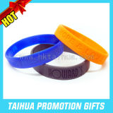 Awareness Silicone Bracelets Message Wristbands (TH-band013)