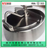 Stainless Steel Ss316 Sanitary Pressure Elliptical Manhole Cover