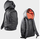 Cap Hoody Hoodie Backpack Bag Back Pack with Hat