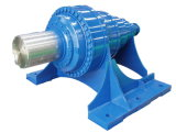 Foot Mounted Planetary Gearbox with Solid Shaft