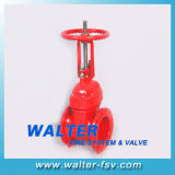 Cast Iron Firefighting Rising Stem Gate Valve