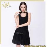 Fashion Simple New Design Prom Black Ladies Dress