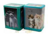 Rectangular Pets Food Tin Cans